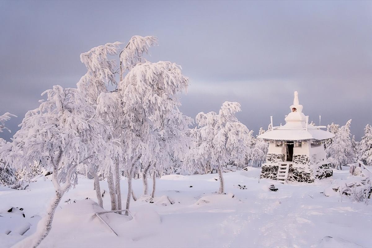 00 Russian Buddhist datsan. Sverdlovsk Oblast. Image B. 21.12.13