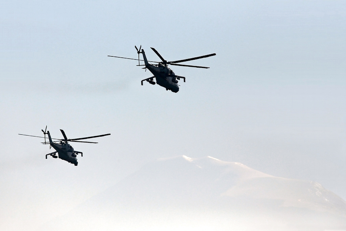 00 Armenian Mi-24 attack helicopter 01. 04.01.14