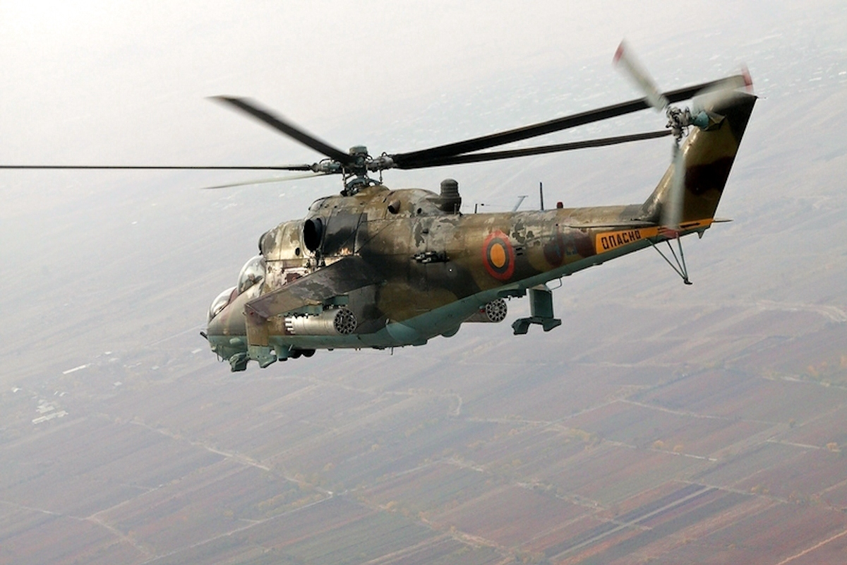 00 Armenian Mi-24 attack helicopter. 04.01.14