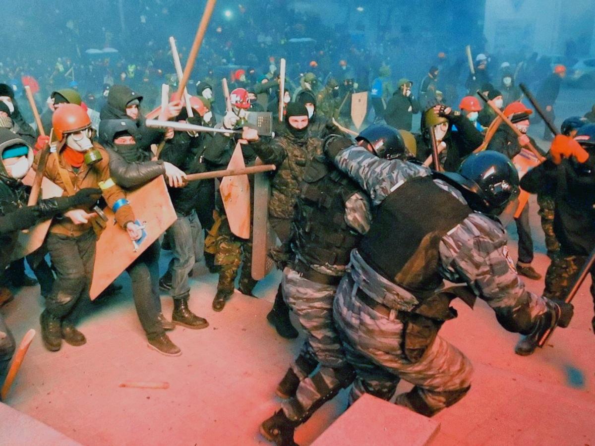 00 Kiev. Riots. 20.01.14