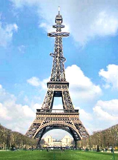 00 La Tour Eiffel de l' Orthodoxe Russe. 09.01