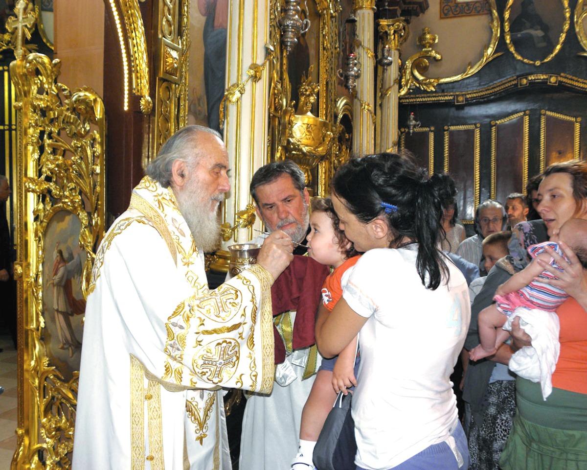 00 Patriarch Irinej of Serbia. 09.01.14