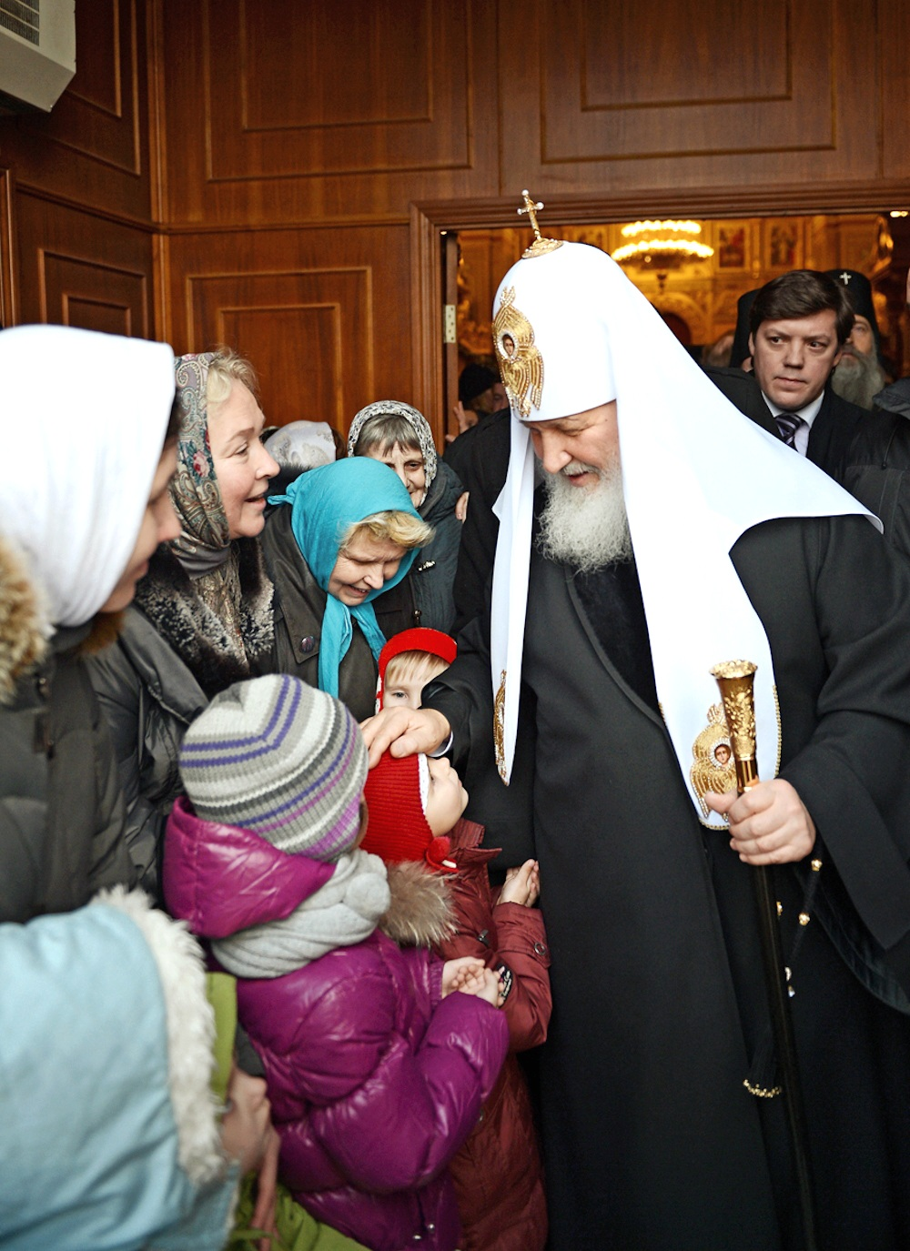 00 Patriarch Kirill on St Nicholas Day 19.12.13. 08.01.14