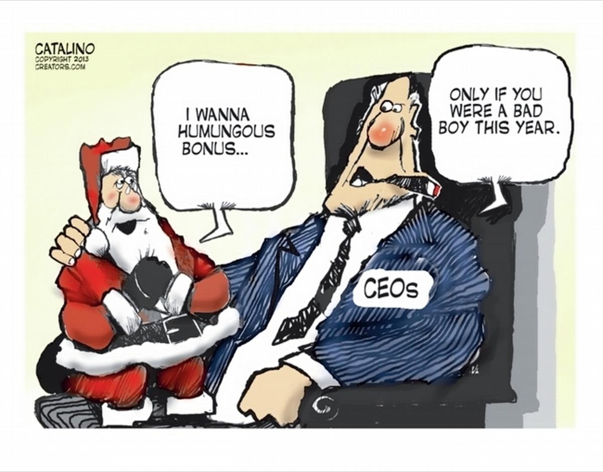 00 Politics. Santa's Bonus. 02.01.14