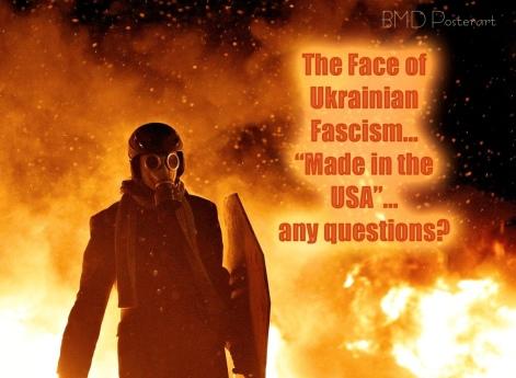 Ukrainian rioter