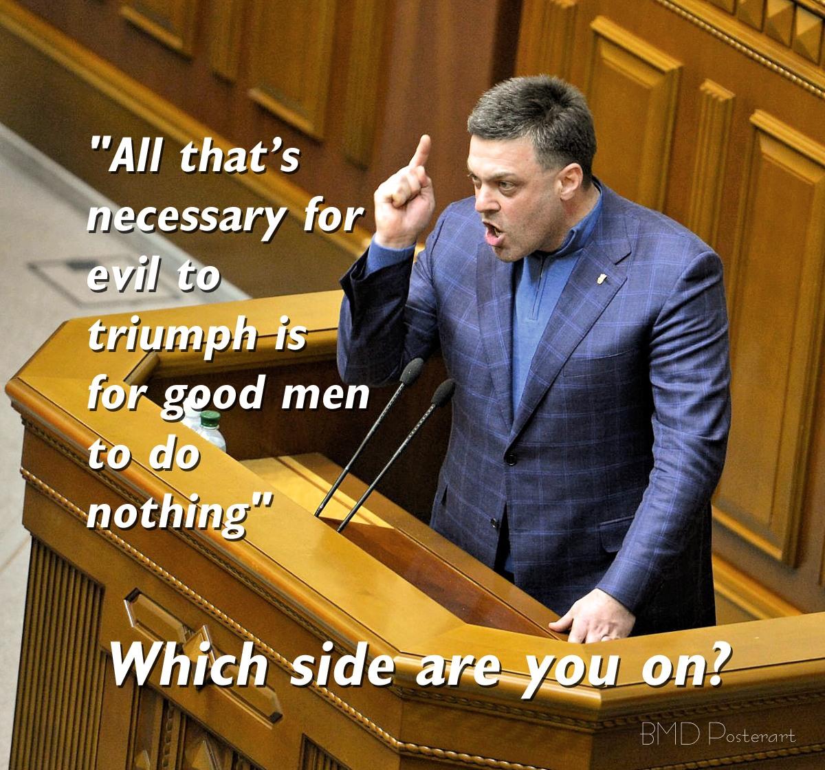 00 Evil to Triumph. Oleg Tyagnibok. 09.02.14