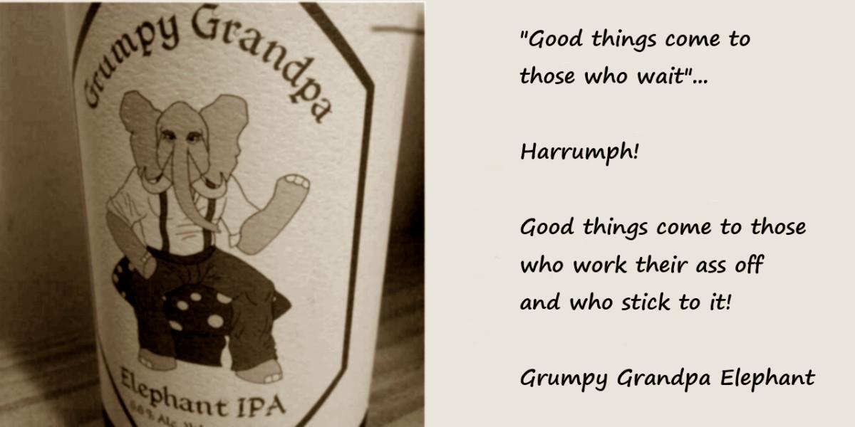 00 Grumpy Grandpa Elephant IPA. 16.02.14