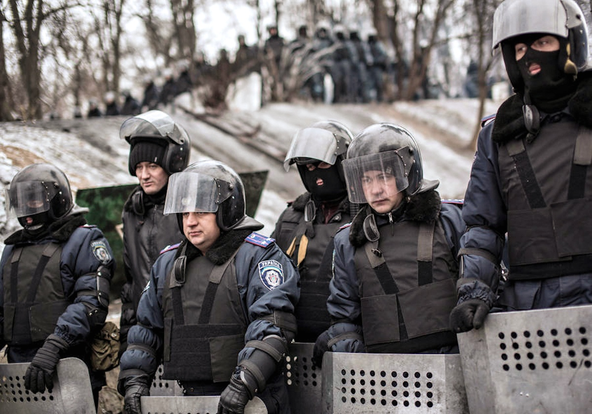 Shevchuk spoke against the introduction of troops in the Crimea 02.03.2014 37