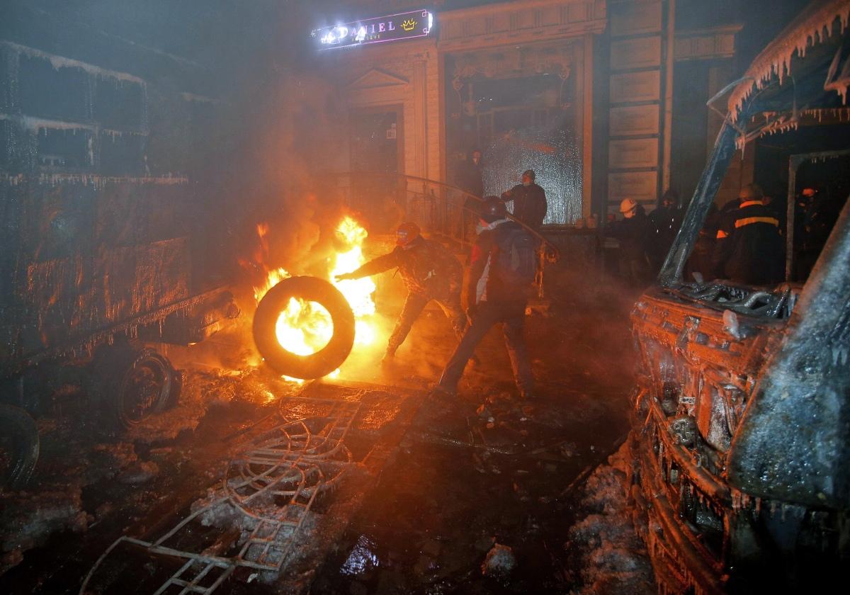 00 Kiev Riots. 02.02.14