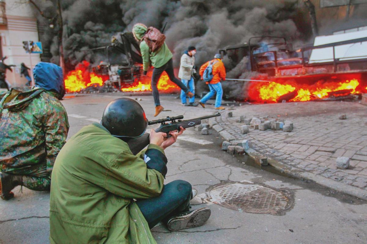 00 Kiev riots. 19.02.14