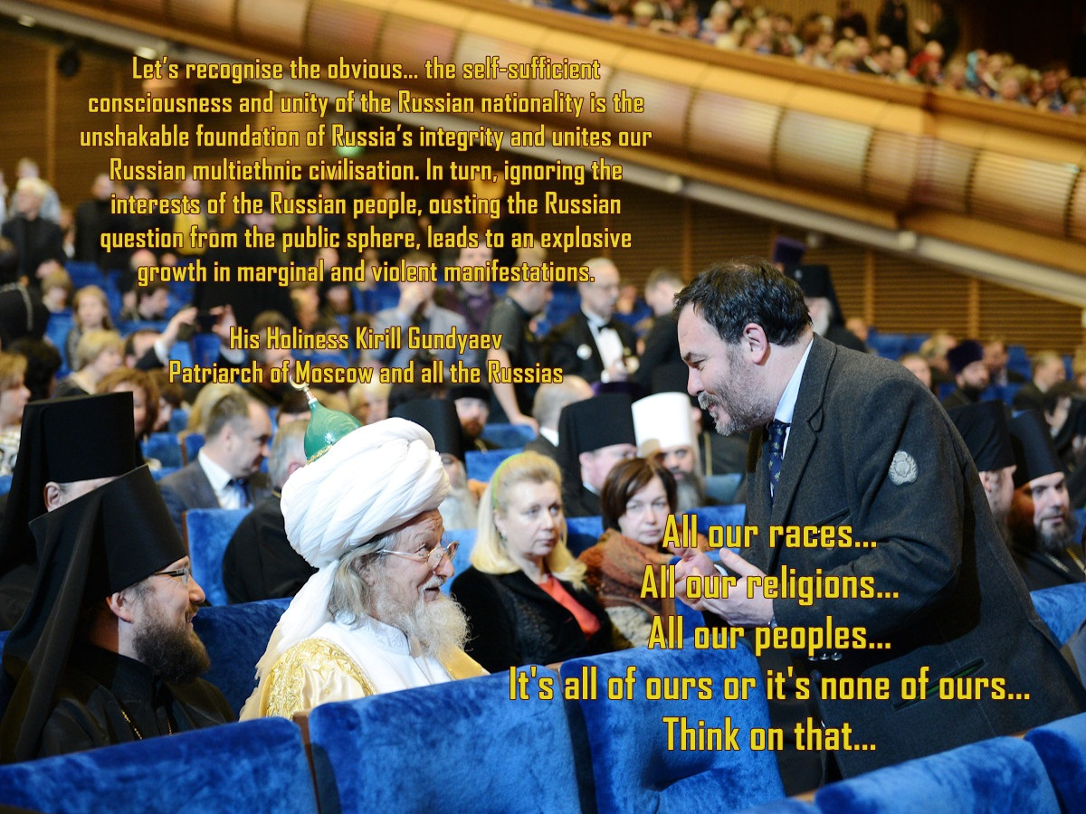 00 Muslim Imam at the Christmas Readings. 18.02.14