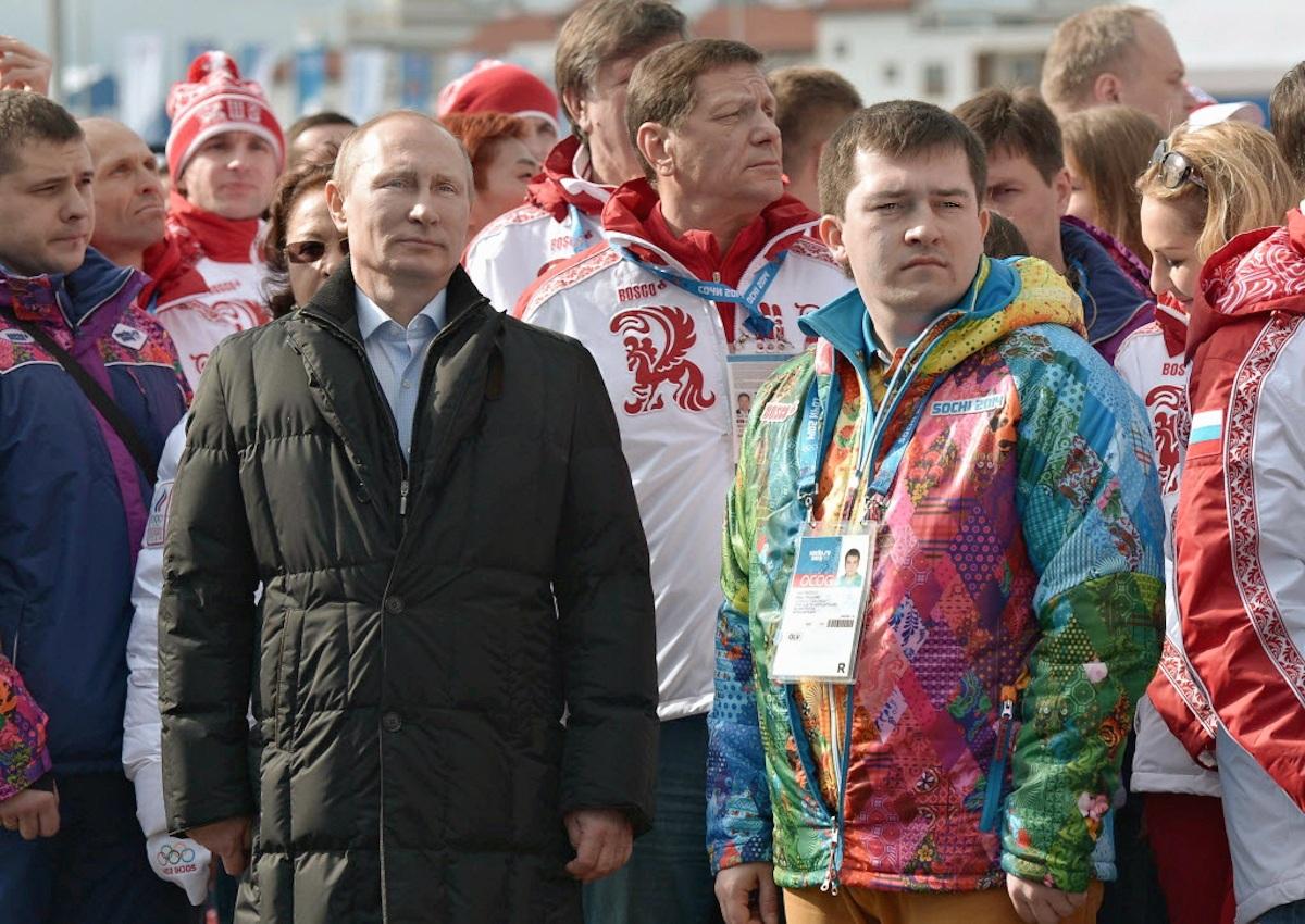 00 Putin at Sochi. Olympic Village. 14.02.14