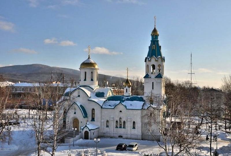 00 Resurrection Cathedral. Yuzhno-Sakhalinsk. 09.02.14