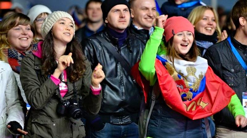 00 Sochi Olympics 04. fans. 07.01.14