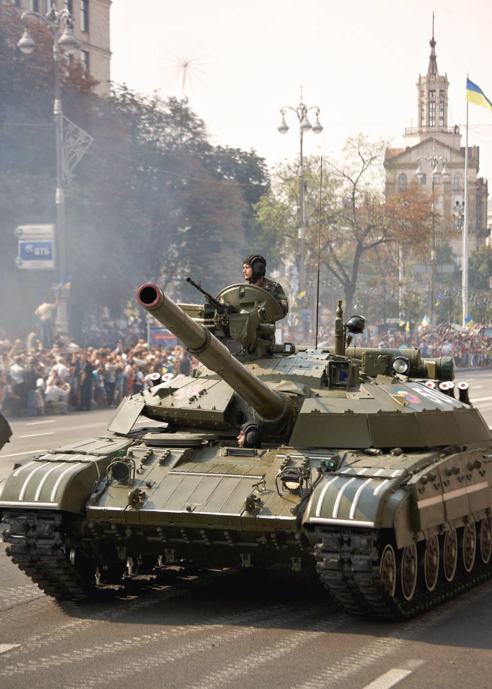 00 T-64 tanks. Ukrainian Army. 02.02.14