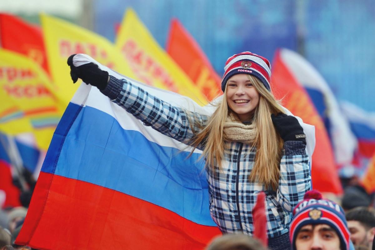 00 Crimea rally. Moscow 03. 19.03.14