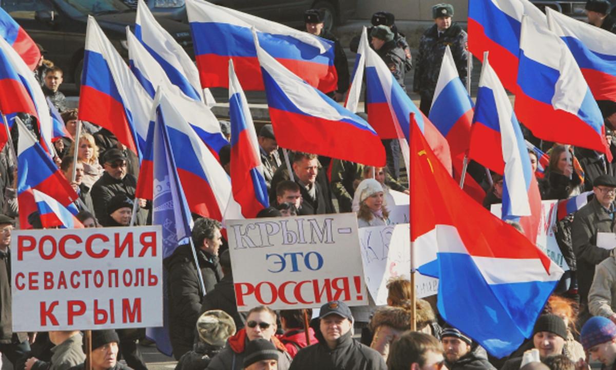 00 Crimea rally. Moscow 05. 19.03.14