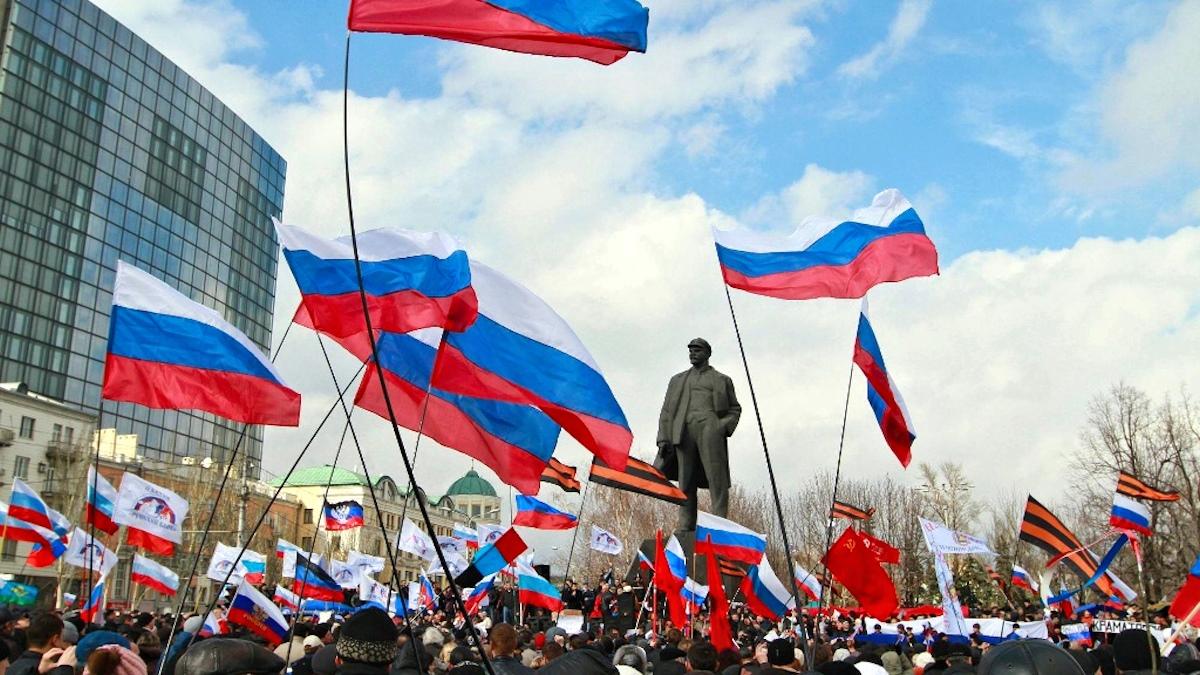 00 Donetsk. Ukraine. 23.03.14