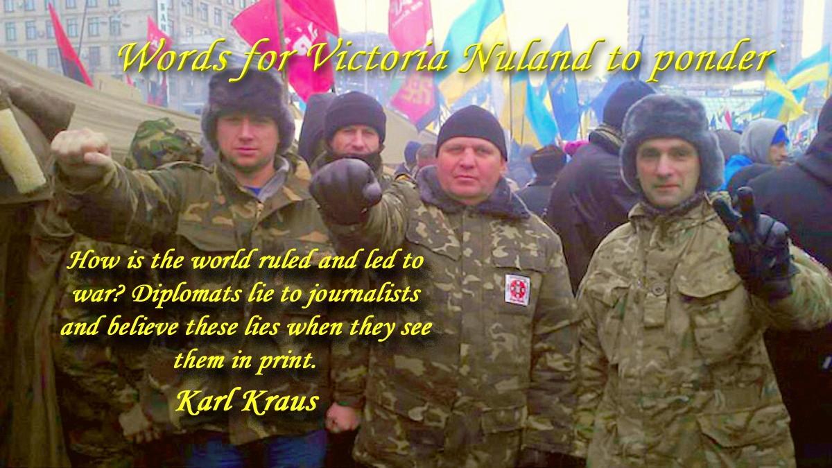 00 Karl Kraus saying. 26.03.14