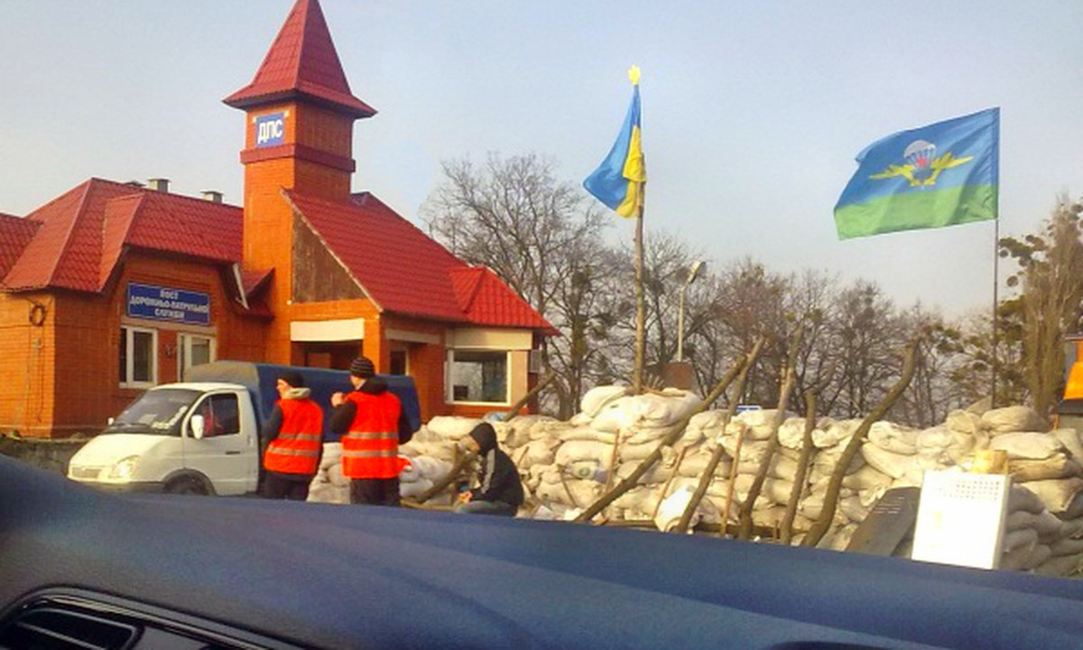 00 Kharkov roadblock. 07.03.14