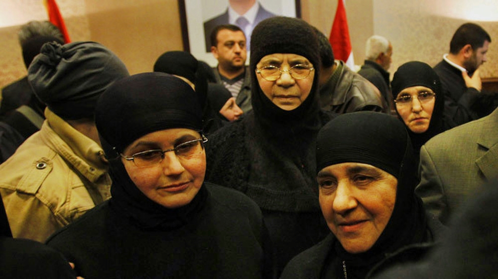 00 released Syrian nuns. 10.03.14