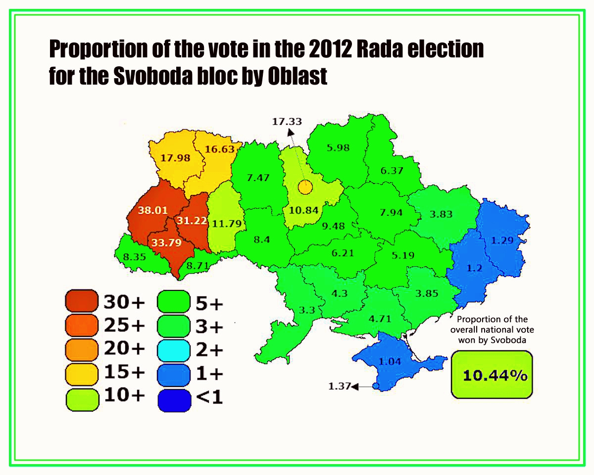 00 Svoboda support in the Ukraine. 2012. 25.03.14