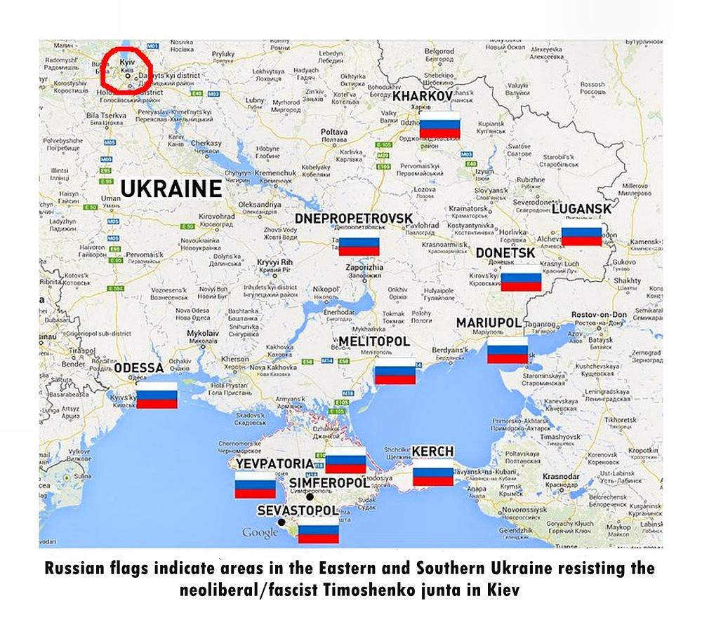 00 Ukraine map of unrest. 10.03.14