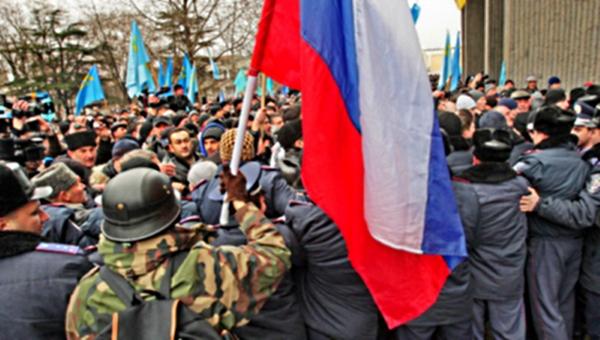 00 Ukraine. SImferopol. 01.03.14