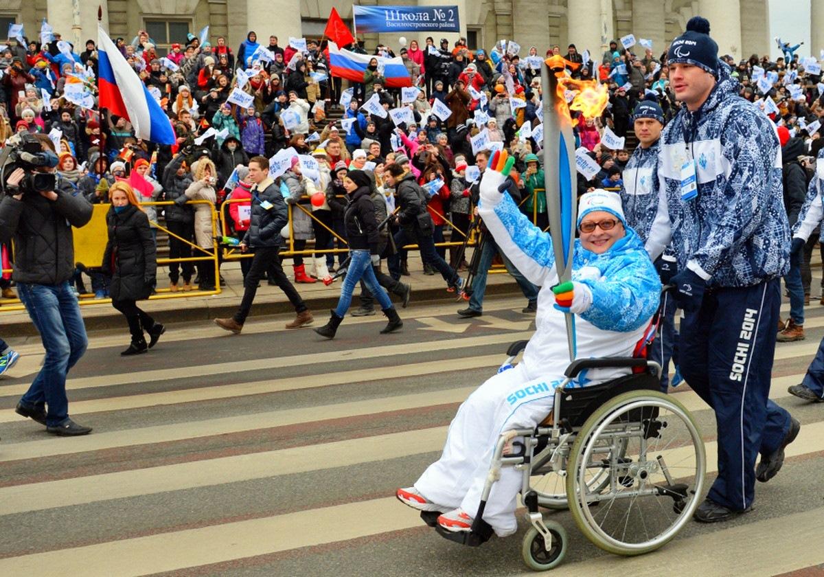 00 Yekaterinburg Paralympic Relay 01. 03.03.14