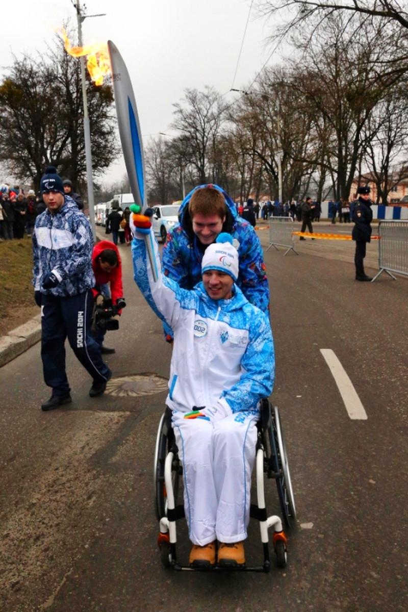 00 Yekaterinburg Paralympic Relay 05. 03.03.14