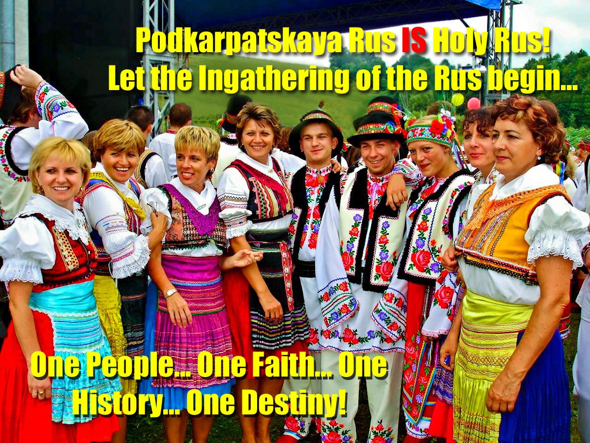00 Carpatho-Russian Lemko people. Holy Rus. 26.04.14