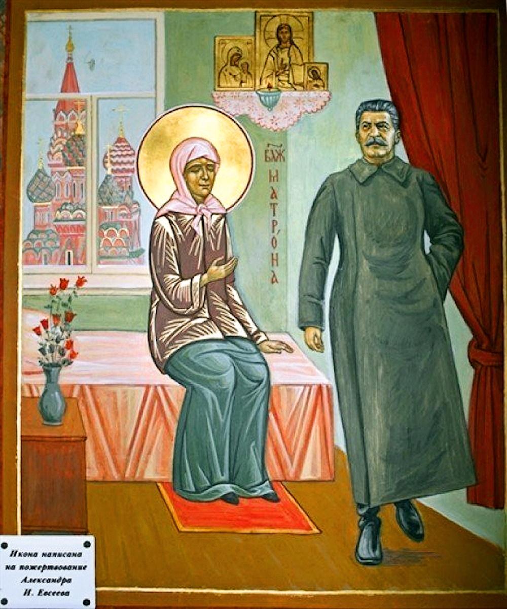 00 Matrona and Stalin. Ilya Pivnik. 2008