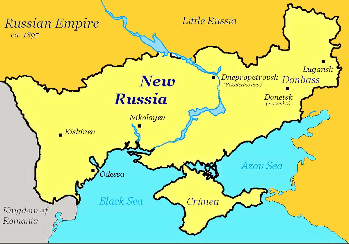 00 Novorossiya map. 21.04.14