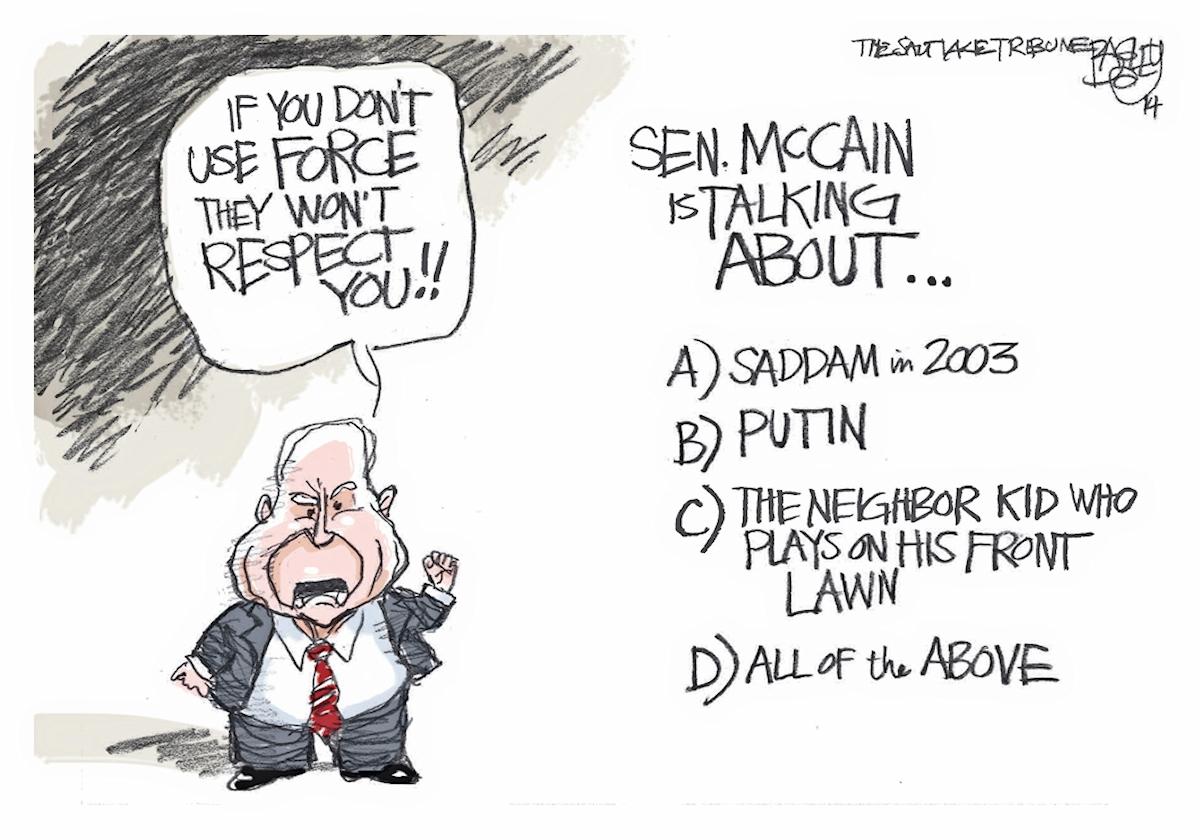00 Pat Bagley. Crabby McCain. 10.04.14.