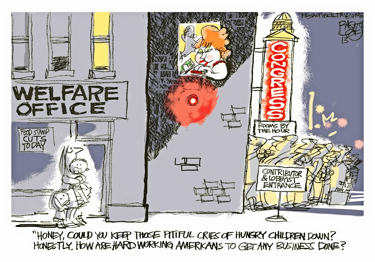 00 Pat Bagley. Lobbyists and Congress. 10.04.14.