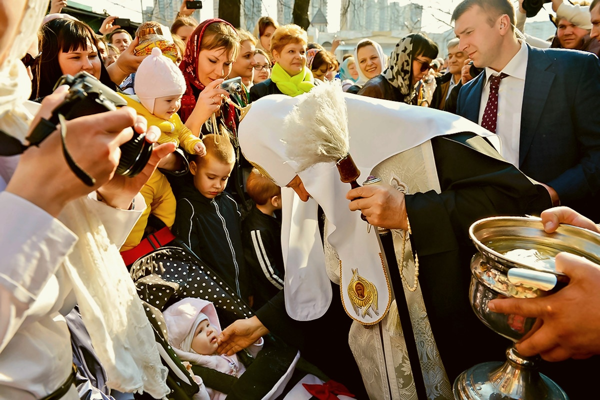 00 Patriarch Kirill 02. Holy saturday. 20.04.14