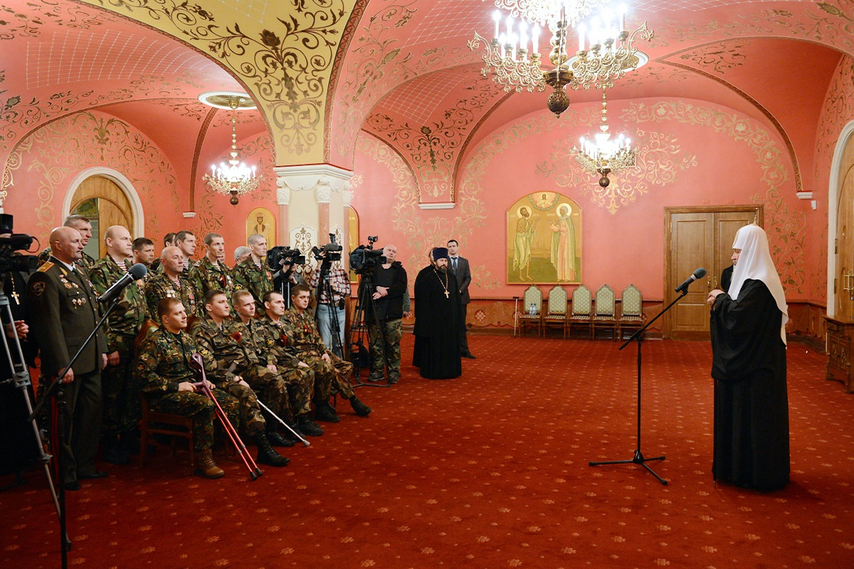 00 Patriarch kirill. MVD troops 01. 02.04.14
