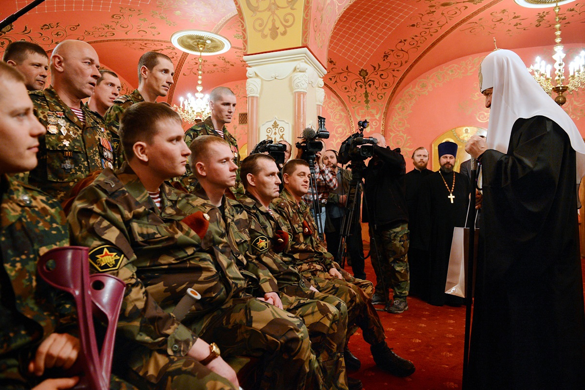 00 Patriarch kirill. MVD troops 03. 02.04.14