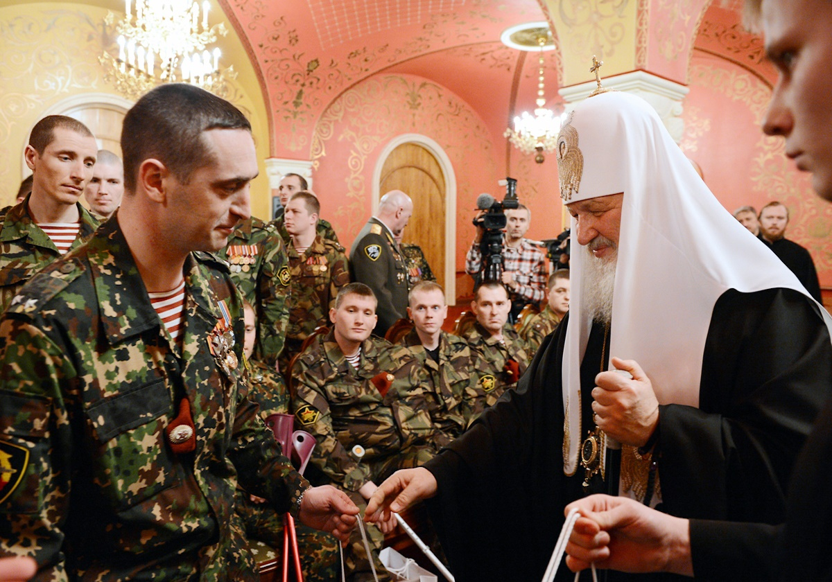 00 Patriarch kirill. MVD troops 04. 02.04.14