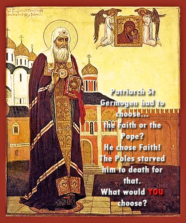 00 patriarch st germogen. 1915. russian. he chose faith