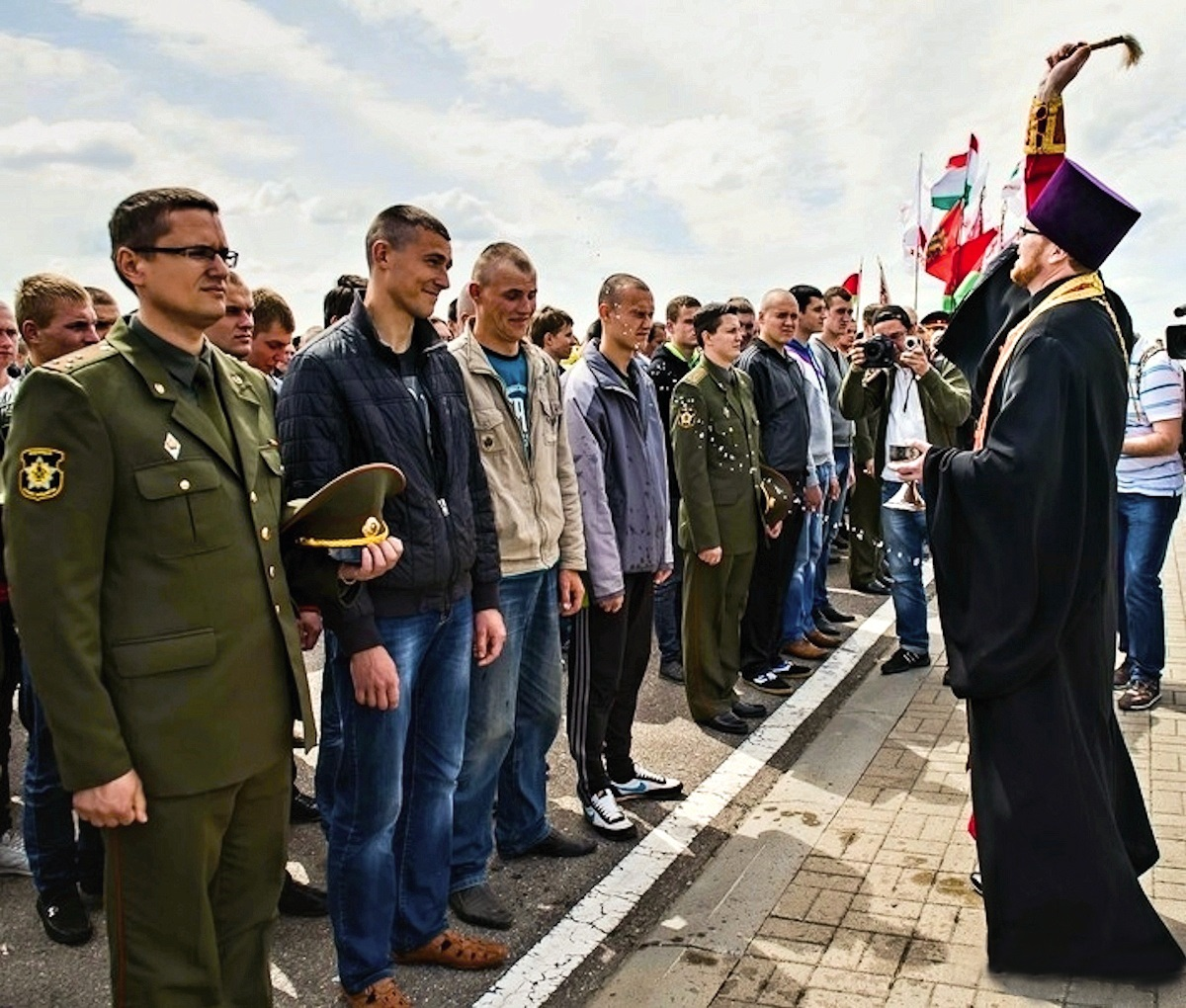 00 belarus. blessing soldiers. orthodox. 16.05.14