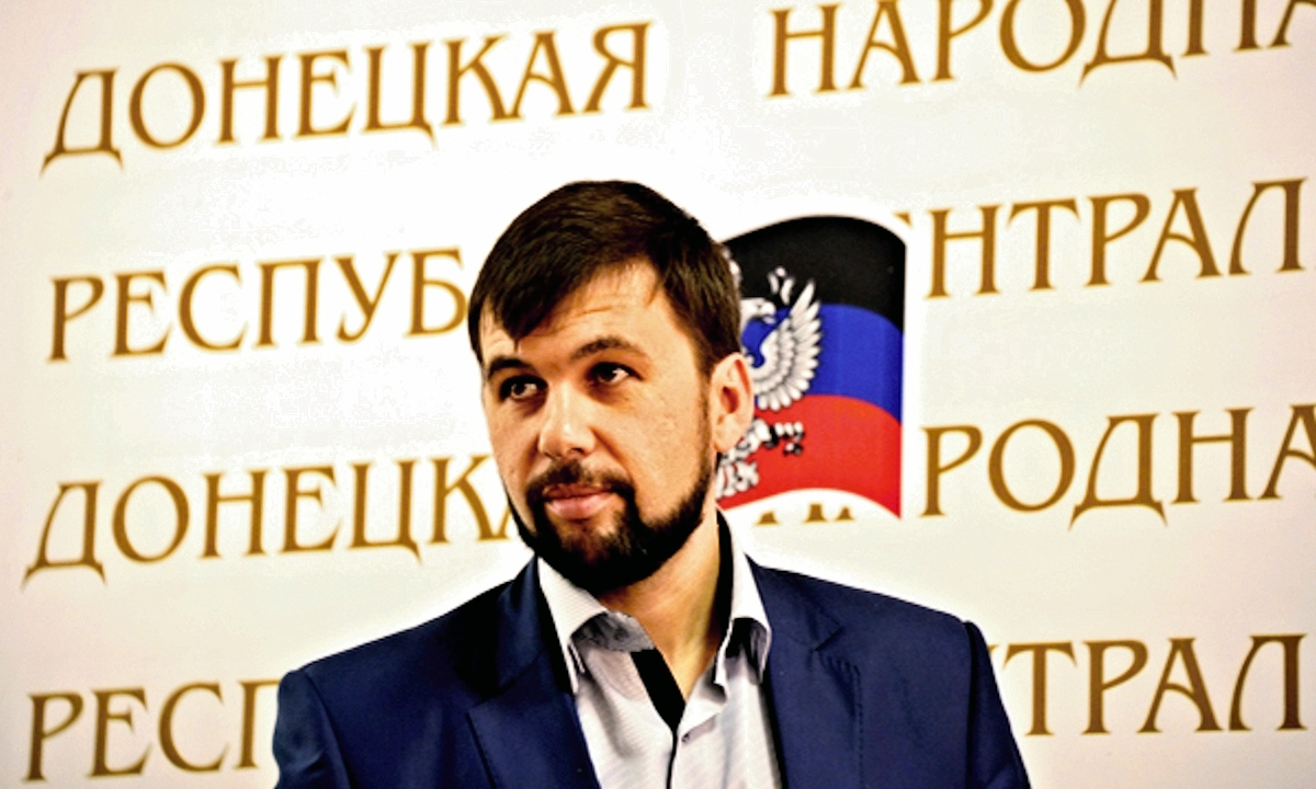 00 denis pushilin. donetsk peoples reprublic. russia. 20.05.14