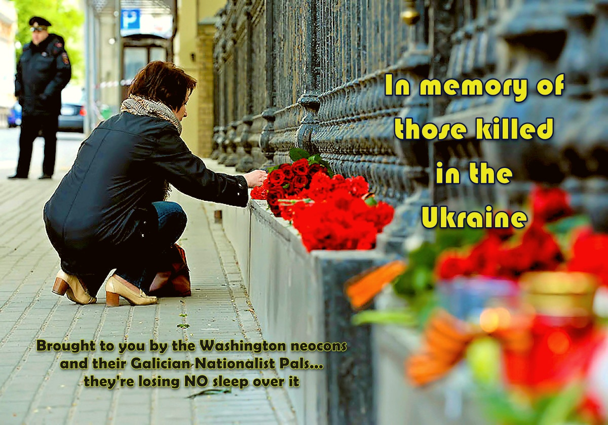 00 In memory of those killed in the ukraine. 05.05.14
