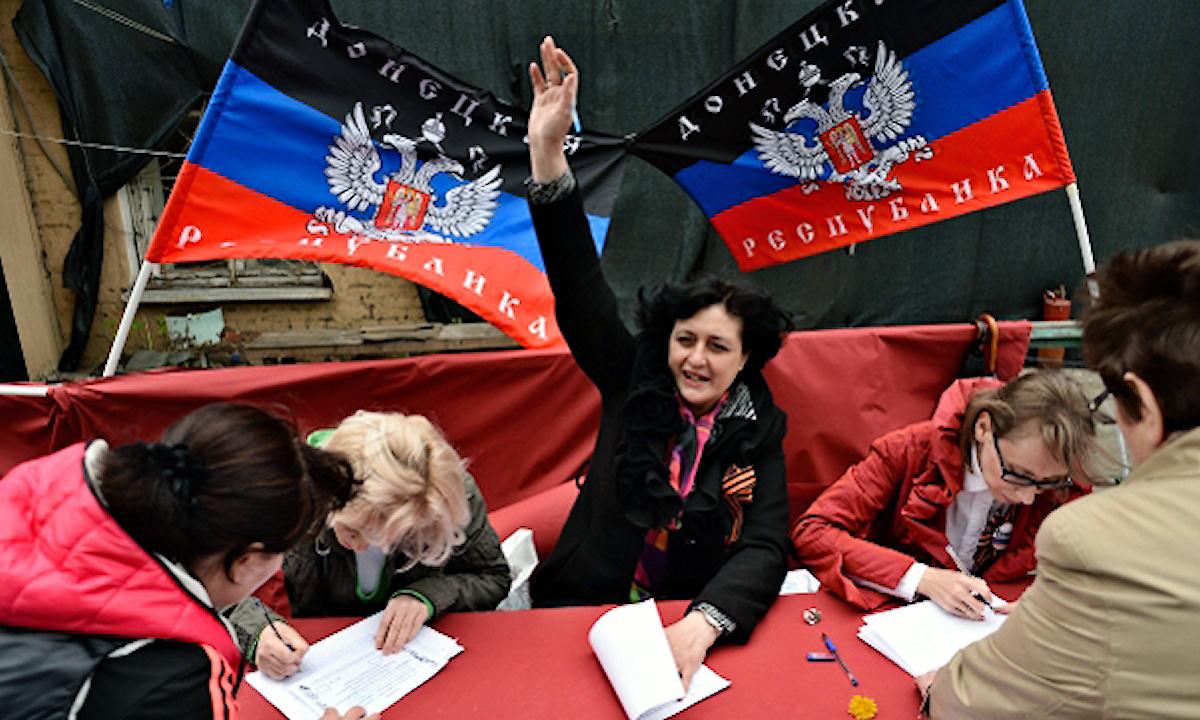 00 Referendum 03. Novorossiya. Russia. 11.05.14