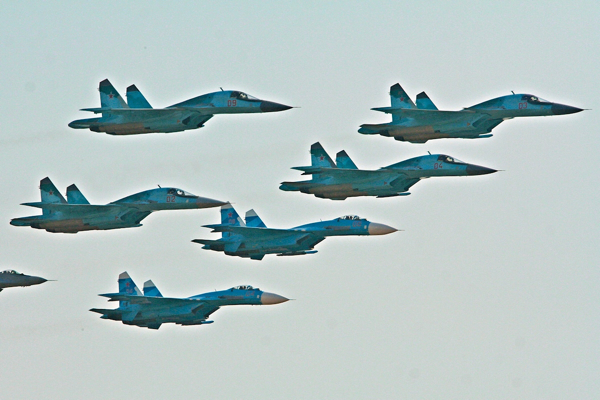 00 Russian Air Force fighters. 04.05.14