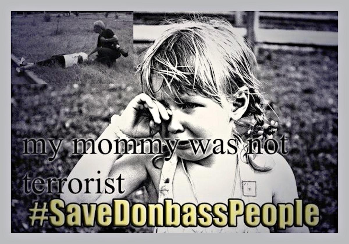 00 Save donbass people 03. mommy was no terrorist. novorossiya. 28.05.14