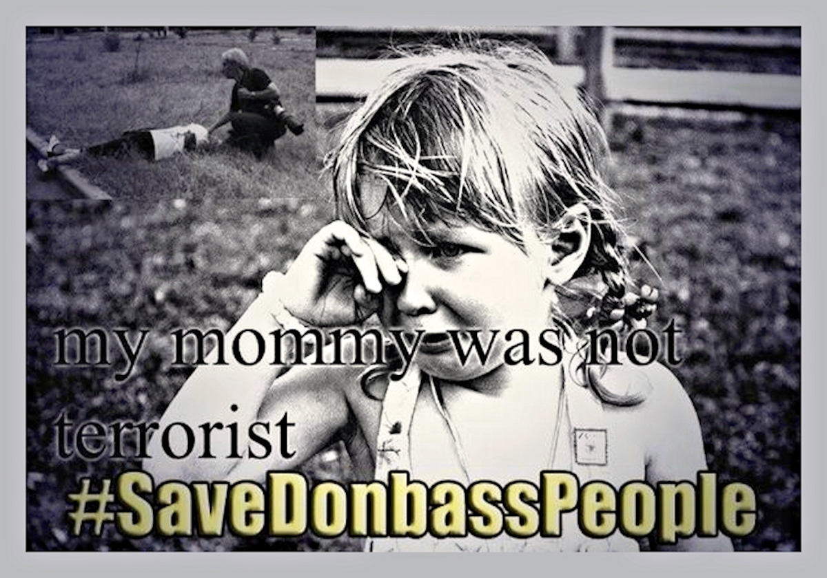 00 Save donbass people 03. mommy was no terrorist. novorossiya. 28.05.14