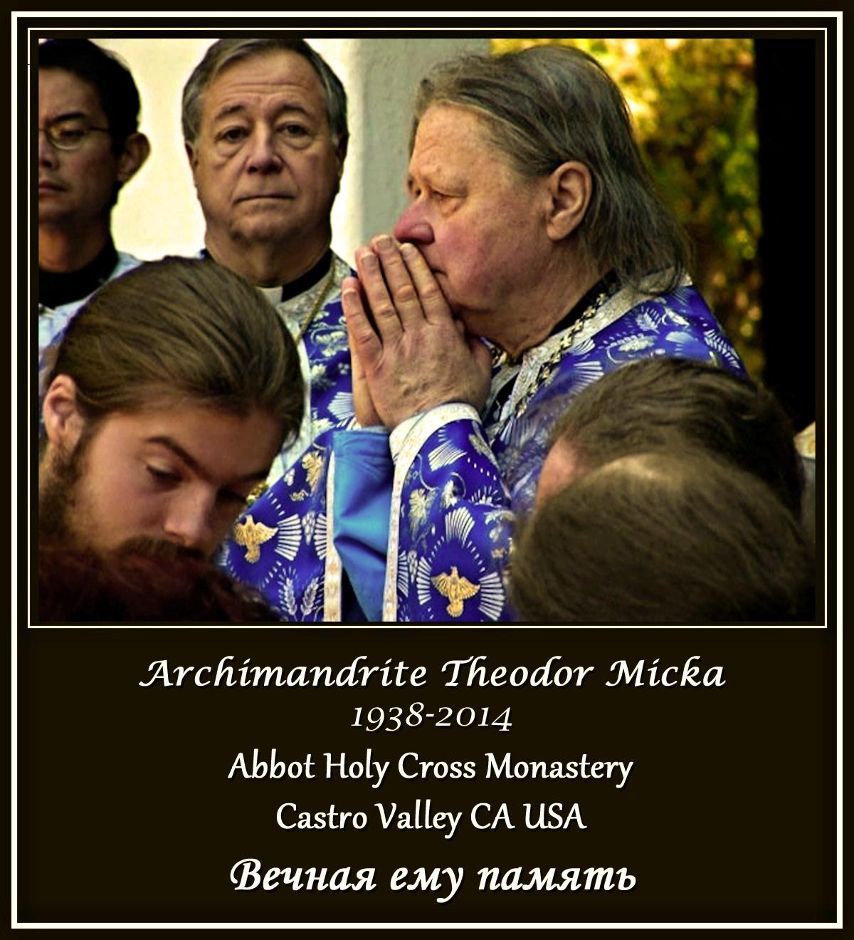 00 Archimandrite Theodor Micka. 18.06.14
