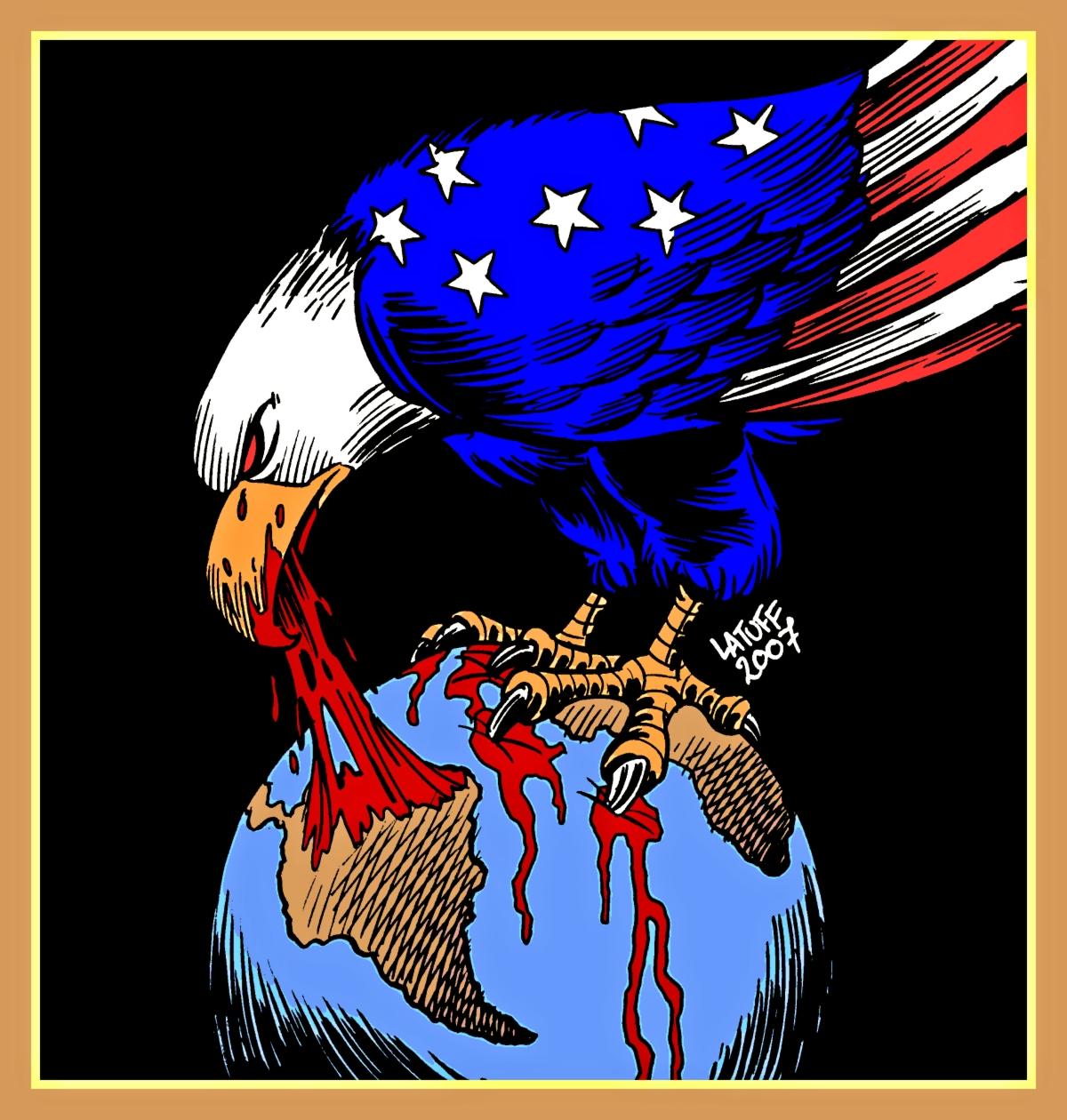00 Carlos Latuff. US Imperialism. 2007