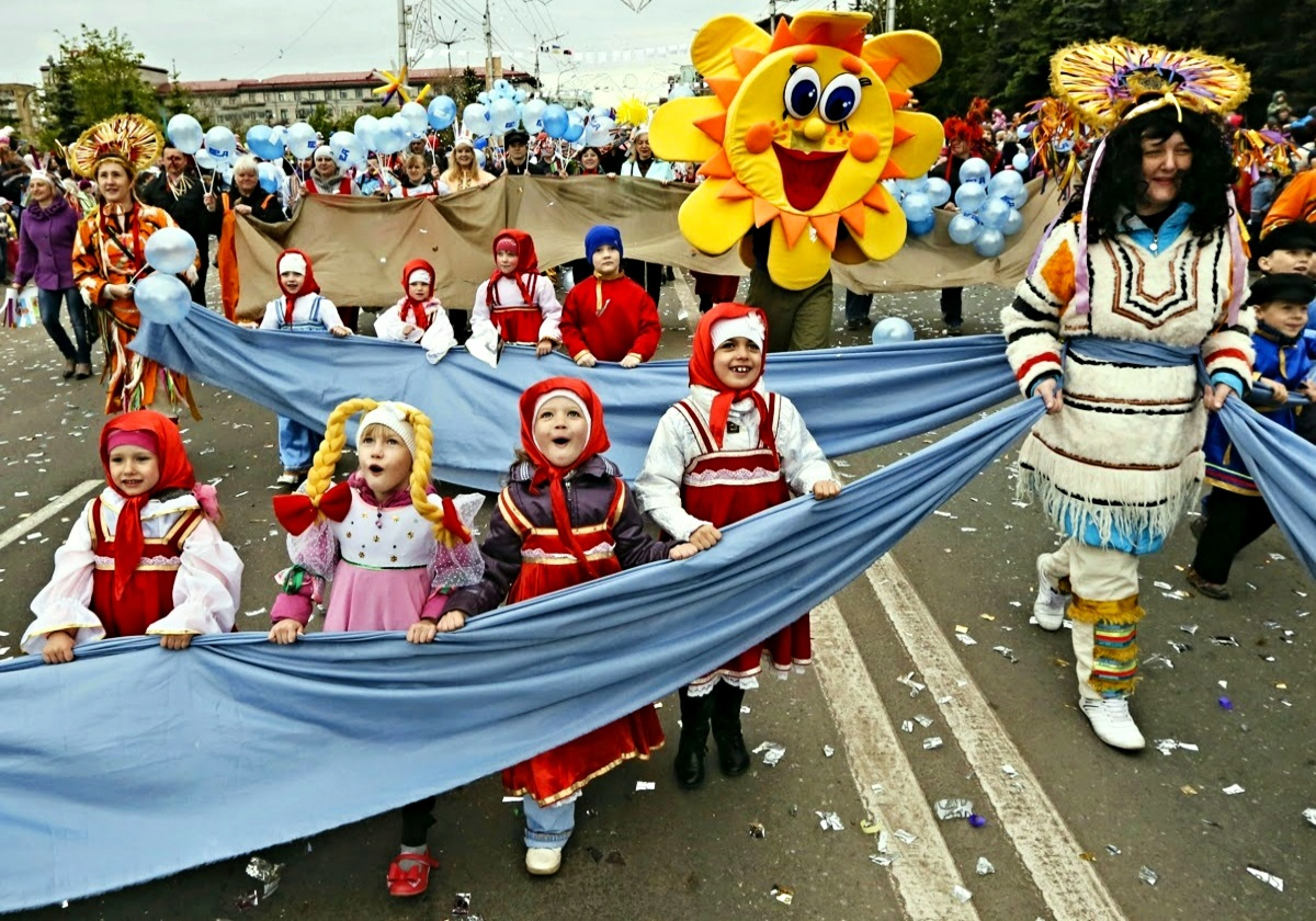 00 international children's day. Krasnoyarsk. 12.06.14